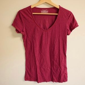 Victoria Secret cozy maroon t-shirt
